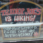 Trader Joe's Hiring at the Fresh Pond Mall